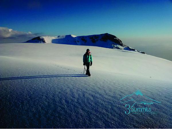 Cumbre del Izta - Glaciar del Pecho