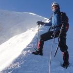 Cumbre previa en el crater del Pico de Orizaba