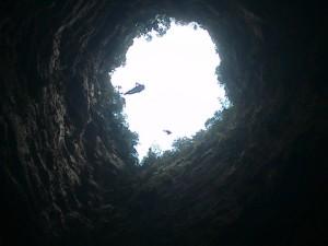 Ascendiendo el Sótano de las Golondrinas - 3Summits