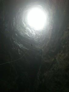 Descendiendo el Sótano de las Golondrinas - 3Summits