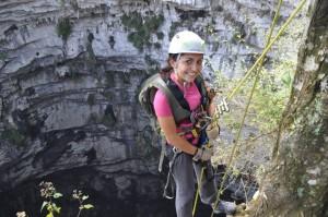 Inicio del descenso del Sótano de las Golondrinas - 3summits