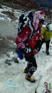 Pico de Orizaba después de ventisca - 3Summits