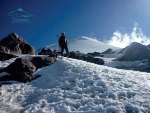 Arriba del Laberinto en el Pico de Orizaba