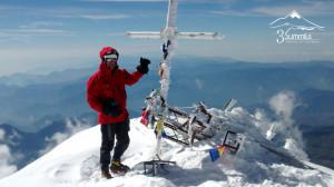 Celebrando Cumbre Pico de Orizaba