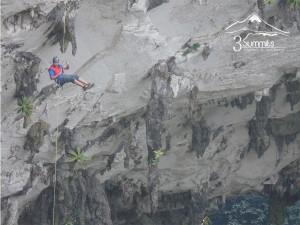 El Boquerón, Espectacular rappel de 180 metro en la Sierra de Zongolica.