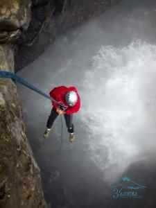 Descenso y ascenso en el Sótano de Popocatl - Sierra de