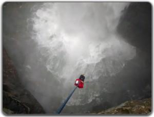Descenso y ascenso en el Sótano de Popocatl - Sierra de Zongolica
