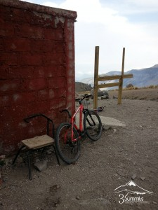 Ruta de MountainBike en el Pico de Orizaba