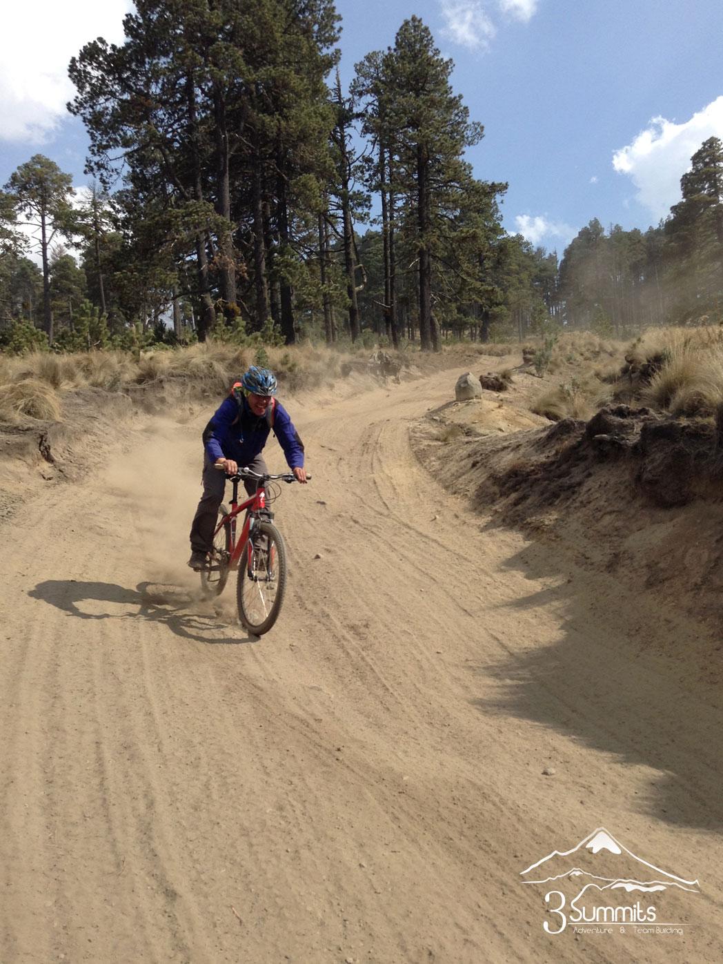 Ruta de Bicicleta en el Pico de Orizaba