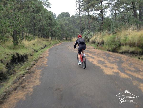 Ruta en MountainBike Izta - Paso de Cortés