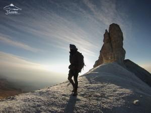 Climbing Iztaccihuatl, Mexico Volcanoes