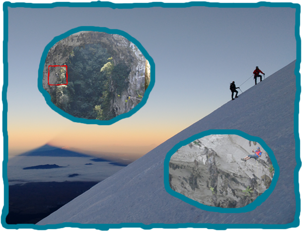 Climb Pico de Orizaba and then do Rappel Boqueron (200m - 650ft)